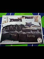 Евро Комплект постельного белья Тирасполь 100% хлопок сублимация лондонский мост