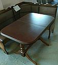 Стол Аврора обеденный раскладной деревянный 101(+35)*69 орех, фото 4
