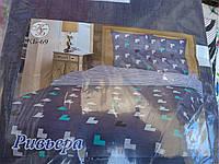 Комплект постельного белья полуторный 100% хлопок Ривьера