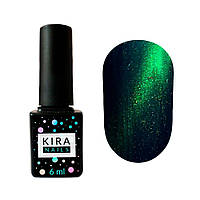 Гель лак Kira Nails Cat eyes 005, 6 мл