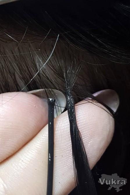 Скрытая техника наращивания волос нанокапсулы Днепр