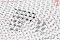 Болты крепления крышки  двигателя правой 70сс к-кт 8шт (под шестигранник)