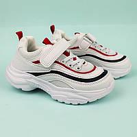 Кроссовки Белые для детей тм Том.м размер 27,28,29,30,31,32