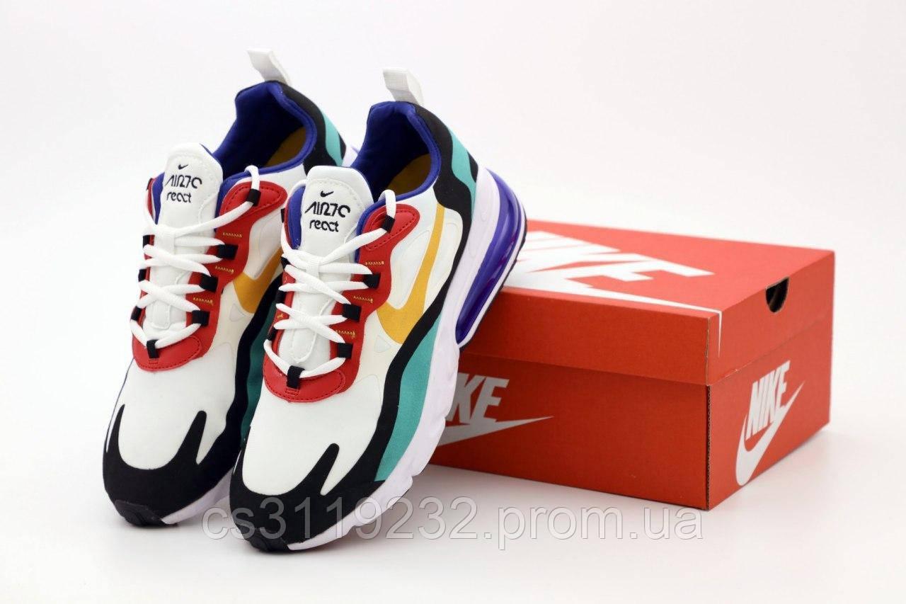 Мужские кроссовки Nike Air Max 270 React (мультиколор)