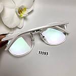 Имиджевые очки в прозрачной оправе с покрытием антиблик, фото 8