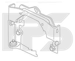Переднее правое крыло BMW 3 E36 Coupe (90-99) 2 дв. купе (FPS) 41358122234