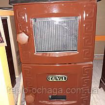 Чугунная печь камин длительного горения Турбо EM-203F Duval ERENDEMIR, фото 2