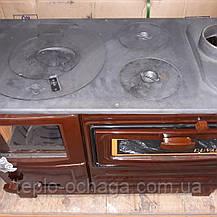 Чугунная печь-кухня на дровах  EК-102F Duval ERENDEMIR, фото 2