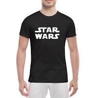 Молодежная летняя спортивная футболка Star Wars Черная