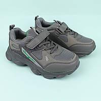 Серые кроссовки для мальчика бренд Том.М размер 33,34,35,36,37,38