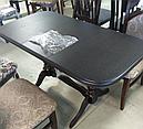Стол Аврора обеденный раскладной деревянный 101(+35)*69 ваниль, фото 10