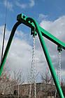 Качели одноместные на цепях, для всей семьи, фото 6