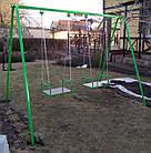 Качели двухместные на цепях, для всей семьи., фото 8