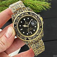 Часы Rolex Submariner Gold-Black, фото 1