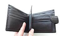 Мужское портмоне с искусственной кожи Balisa W52-208-2 коричневый Купить портмоне оптом недорого Одесса 7 км, фото 3