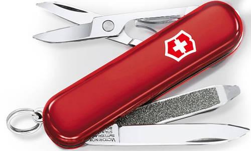 Компактный швейцарский карманный нож Victorinox Swisslite 06228 красный