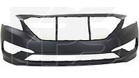 Передний бампер Hyundai Sonata LF '14-17 (FPS) 86511C2000