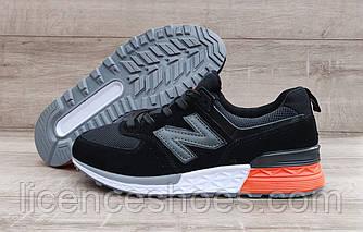 Чоловічі кросівки New Balance 574 Black/White