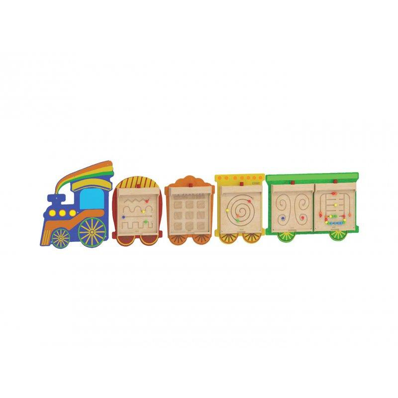 Система для монтажа 5 гибких пластин - поезд Masterkidz ME06486