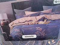 Комплект постельного белья полуторный 100% хлопок Romantic TD-13