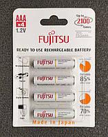 Fujitsu AAA аккумулятор Ni-MH 750 mAh с низким саморазрядом. Полный аналог Eneloop. HR-4UTCEU (4B), фото 1