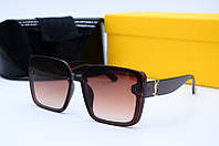 Солнцезащитные очки YSL 6017 коричневые