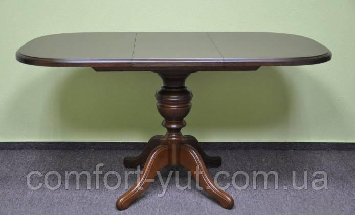 Стол Эмиль обеденный раскладной деревянный 105(+38)*74 венге - фото 2