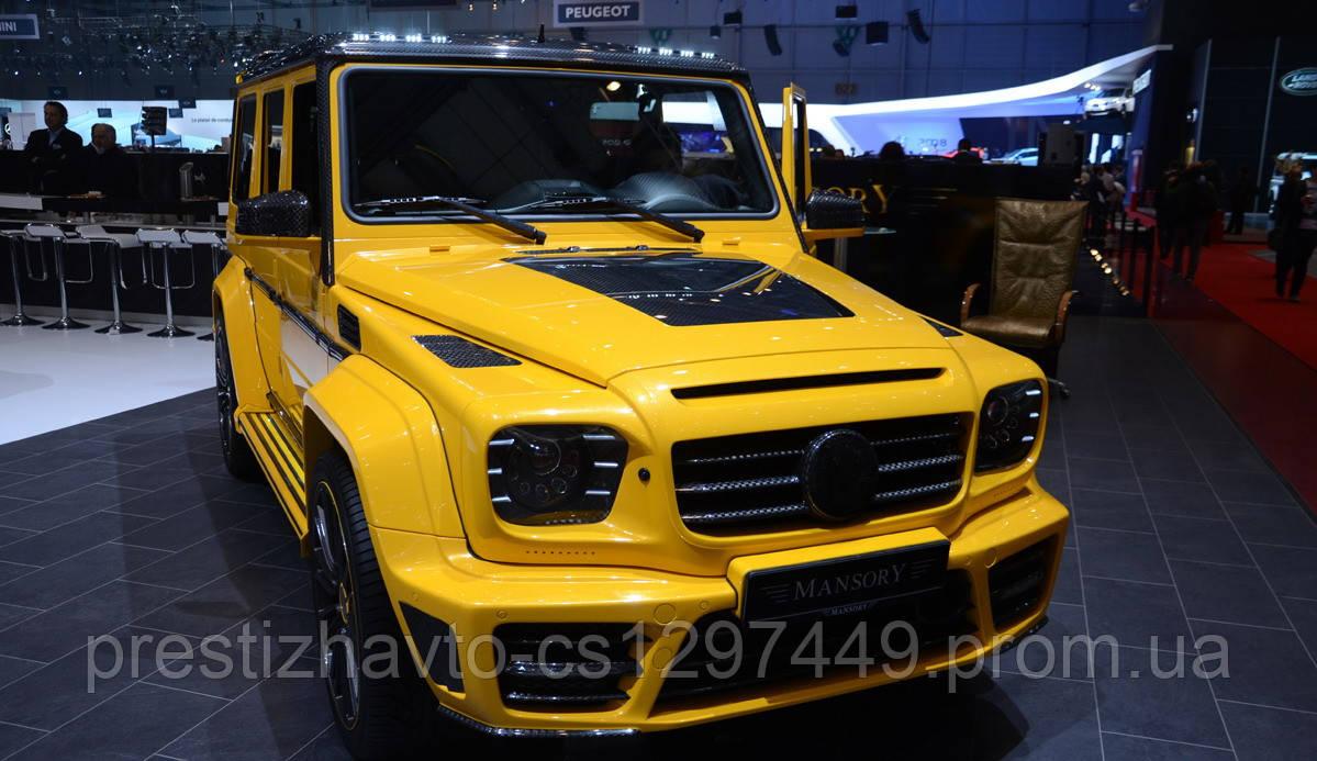Комплект обвеса Gronos на Mercedes G-Class W463