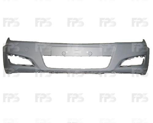 Передний бампер Opel Astra H '07-14 (FPS) 13225745