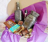 Оригинальный подарок - набор Серебро   Ukrainian Gift Box