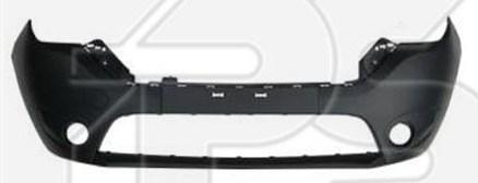 Передний бампер Renault Dokker, Lodgy 12- черный, c отв. ПТФ (FPS) 620221477R
