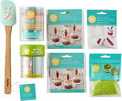 Wilton Набір для Великодніх капкейків Easter Cupcakes Decorating Kit 7-Piece