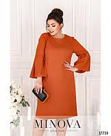 Красивое женское платье в 4-х цветах батал с 50 по 64 размер