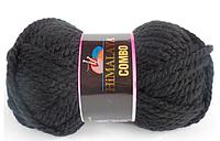 Пряжа черного цвета