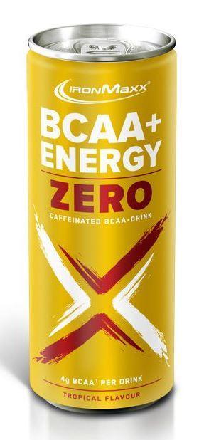 IronMaxx BCAA + Zero Energy Drink 330ml