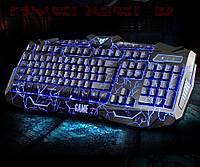 Проводная игровая клавиатура с 3-я подсветками и мышкой V-100