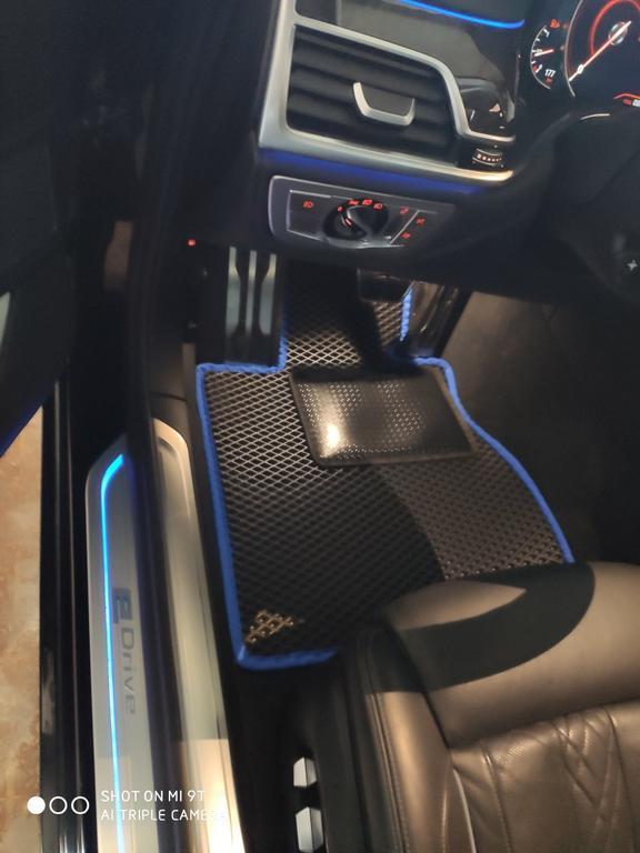 Наши EVA коврики в салон BMW 7 G12 '15-