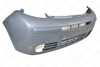 Бампер передній під противотуманки на Renault Trafic 2001->2006 - Polcar (Польща) - 602607-1