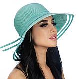 Річна крислатий капелюх по краю поля прозорі колір чорний, фото 2