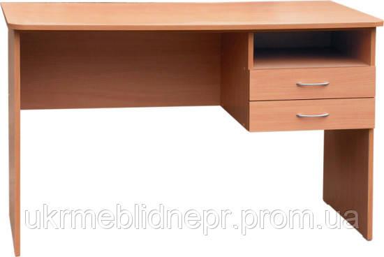 Стол письменный, 2 ящика (бюджет)