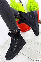 Женские ботинки зимние с мехом 39 размер стелька 25.5 см