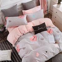 Комплект постельного белья полуторный 100% хлопок Love