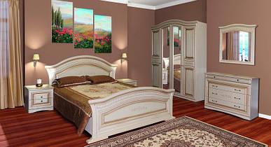 Спальня Ніколь 4Д патина (Світ Меблів)