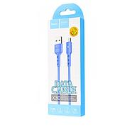 Кабель Hoco X30 Star Charging data cable for Micro USB Blue, фото 2