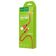 Кабель Hoco X27 Excellent charge charging data cable for Lightning Red, фото 2