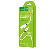 Кабель Hoco X27 Excellent charge charging data cable for Micro USB White, фото 2