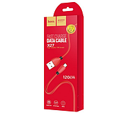 Кабель Hoco X27 Excellent charge charging data cable for Micro USB Red, фото 2