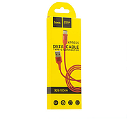 Кабель Hoco Xpress X26 charging data cable for Type-C Red, фото 2