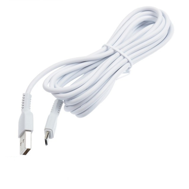 Кабель Hoco X20 Flash Micro charging cable (L-3M) White