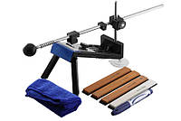 Точильное устройство для ножей Ruixin, четыре бруска, чехол, точилки для ножей